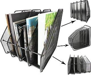 bureau industriel ZCZN Bo/îte de rangement en plastique A4 pour /école utilitaire personnel m/édical Noir