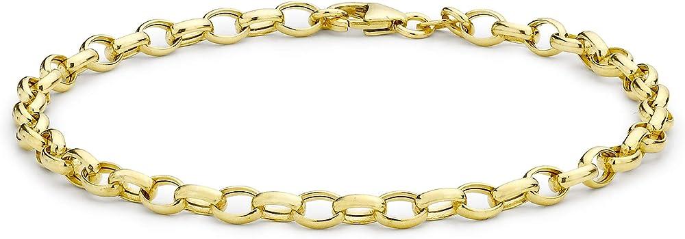 Carissima gold bracciale per donna, in oro giallo 9k (375) 1.24.0691 (1.7 grammi)