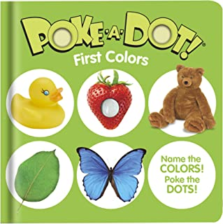Melissa & Doug 41358 Poke-a-Dot First Colours | Activity Books | 3+ | Gift for Boy or Girl