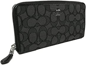Coach's Outline Signature Accordion Zip Around Wallet