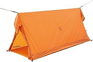 キャプテンスタッグ(CAPTAIN STAG) テント ソロテント ソロツェルト UVカット 3000mm防水 ベンチレーション装備 【1人用】 バッグ付き オレンジ UA-53 製品サイズ:(約)80×210×h90cm