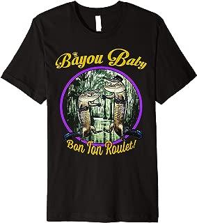 Bayou Baby Swamp Gator New Orleans Louisiana Cajun T-Shirt