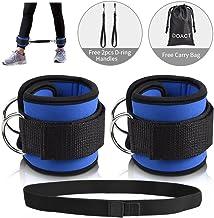 Unbekannt Sharplace Premium Fu/ßschlaufen aus Nylon F/ür Kabelzug Fu/ßschlaufe Fitness Zughilfe Ankle Strap Gym Beintraining
