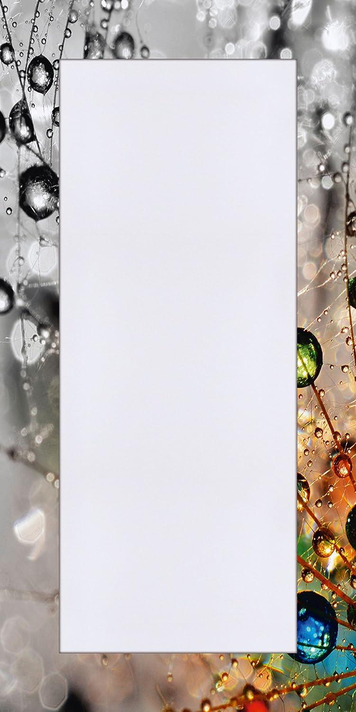Artland Qualittsspiegel I Spiegel Wandspiegel Deko Rahmen mit Motiv 60 x 120 cm Botanik Blaumen PusteBlaume Foto Bunt F1YG Farbenfrohe Natur