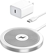Olunnvi Magnetic Wireless Charger for Mag Safe Charger iPhone 12 Charger Fast Wireless Charging Pad Type C Charger Compati...