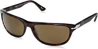 Persol Men's PO3156S Sunglasses Havana/Polar Brown 63mm