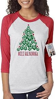 Custom Apparel R Us Christmas Vacation Mele Kalikimaka Womens 3/4 Sleeve Shirt
