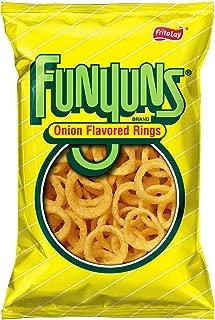 Frito Lay, Funyuns, Onion Flavored Rings, 6.5oz Bag (Pack of 4)