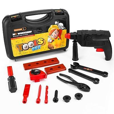 Vandora Durable Kids Tool Set with Cordless Dri...