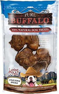 Loving Pets Pure Buffalo Bone Dog Treats