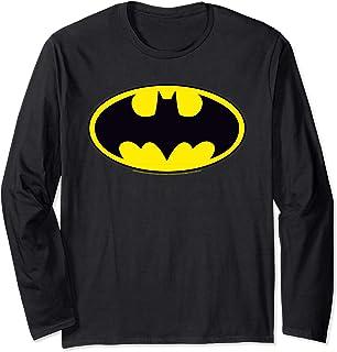 DC Comics Batman Logo Manche Longue