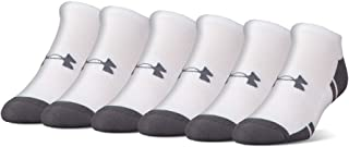 Under Armour Adult Resistor 3.0 No Show Socks, 6-Pairs