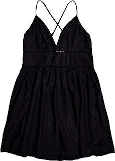 Roxy Women's New Silver Light Strappy Woven Dress