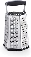 Cuisipro 7-in-1 torenrasp, roestvrij staal 301-lemmet, 304-frame, PP handvat, TPR/ABS bodemdeel, 14 x 12 x 25 cm