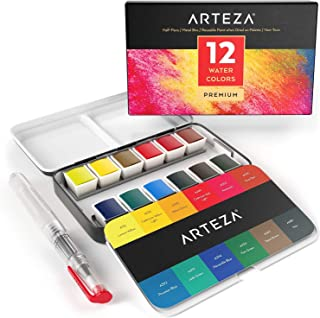 arteza watercolor half pans