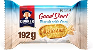Quaker Good Start Biscuits With Oats, 192 gm