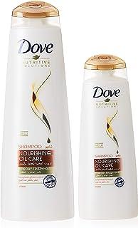 Dove Shampoo Nourishing Oil, 400ml + 180 ml