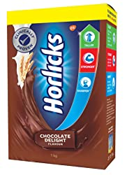 Horlicks Health and Nutrition drink - 1 kg Refill pack (Chocolate flavor)