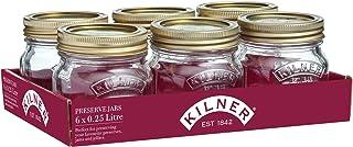 Kilner® Tray of 6 0.25 Litre Preserve Jars
