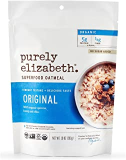 Sponsored Ad - purely elizabeth Original Ancient Grain Oatmeal & Hot Cereal, 0.67 Pound, 10 Ounce