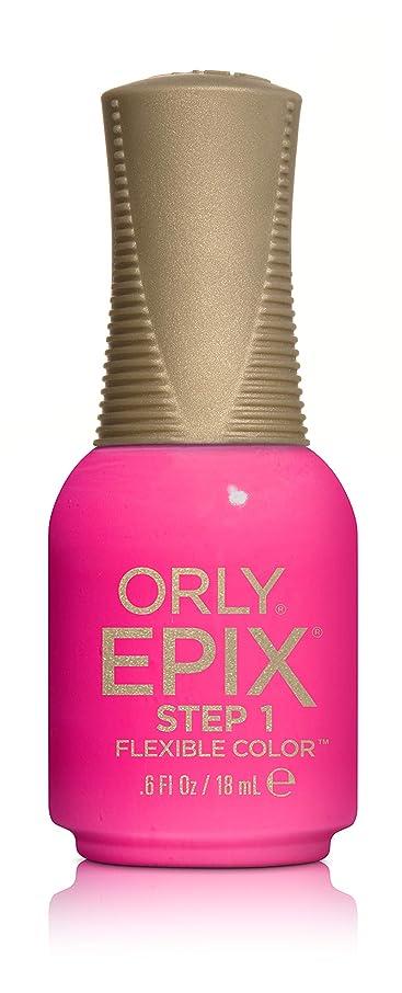 入るポンペイ囚人Orly Epix Flexible Color Lacquer - Headliner - 0.6oz / 18ml
