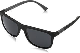 1d357f95b49c Emporio Armani EA4079 504287 Matte Black EA4079 Square Sunglasses Lens  Category