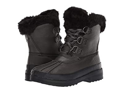 Sperry Maritime Winter Boot Leather (Black) Women
