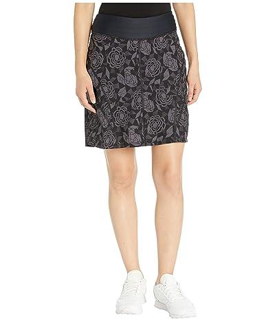 Skirt Sports Go Longer Skirt (Noir Fleur Print) Women