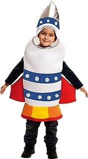 My Other Me - Disfraz Cohete infantil, 3-4 años (Viving Costumes MOM02370)