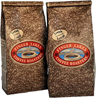 Finger Lakes Coffee Roasters, Jamaican Me Crazy Coffee, Ground, 16-ounce bags (pack of two)