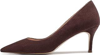 EDEF Scarpe da Donna,Tacco Gattino,Scarpe col Tacco Donna,6.5cm Scarpe