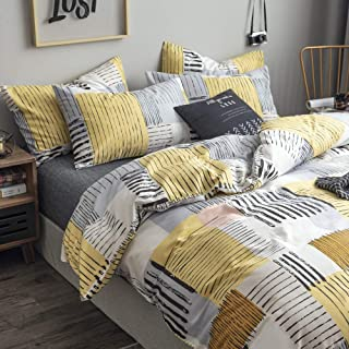 Best black and white and yellow bedding Reviews