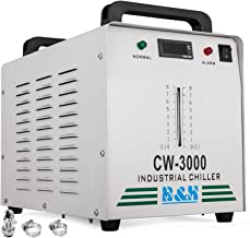 Mophorn Water Chiller CW-3000DG Industrial Water Chiller Capacity 9L Laser Water Chiller for 60W 80W Laser Engraving Machine
