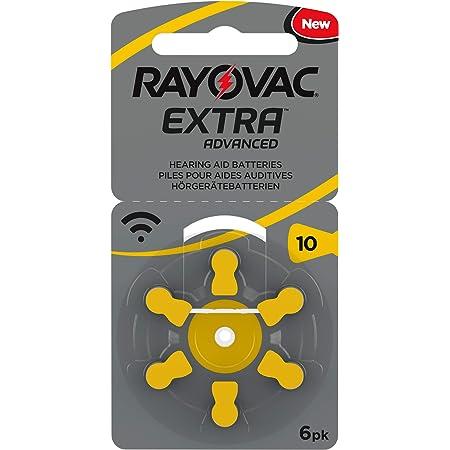 30 Rayovac Extra Advanced Nr 10 Hörgerätebatterie Zinc Elektronik