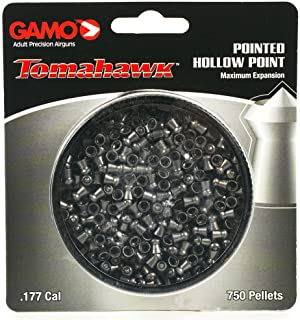 Gamo Tomahawk .177 Cal, 7.8 Grains, Pointed, 750ct