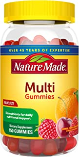 Nature Made Multivitamin Gummies, 150 Count Value Size for Daily Nutritional Support