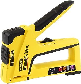 STANLEY FATMAX FMHT6-70411 - Grapadora FatMax 4 en 1 para grapas, cables y clavos tipo J