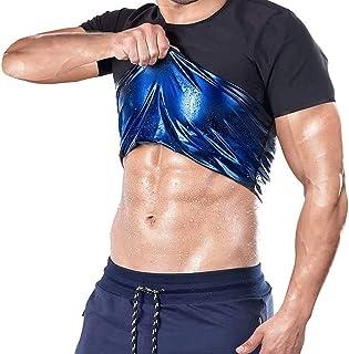 Men Waist Trainers Vest Neoprene Sauna Tank Tops Body Shapes for Fat Burning Slimming Abdomen Weight Loss Yoga Fitness