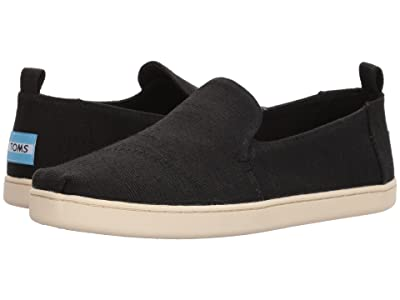 TOMS Deconstructed Alpargata (Black Heritage Canvas) Women
