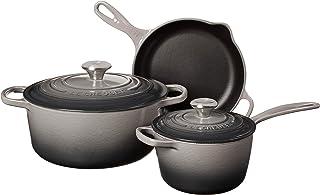 Le Creuset Enameled Cast Iron Signature Cookware Set, 5 pc. , Oyster