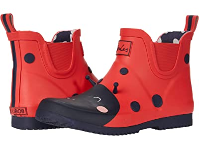 Joules Kids Wellibob (Toddler/Little Kid/Big Kid) (Red Ladybird) Girl