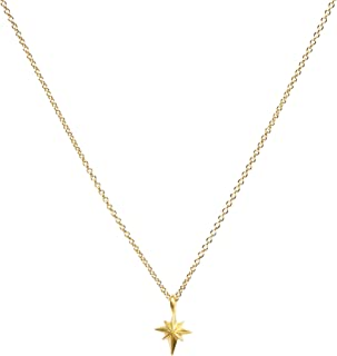 Dogeared Mom North Star Gold Dipped Wish Boxed 16