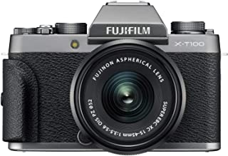 Fujifilm X-T100 with XC15-45mmF3.5-5.6 OIS PZ Lens, Camera Bag and 16GB Memory Card
