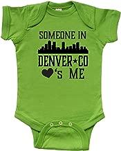 inktastic Denver Colorado Someone Loves Me Skyline Infant Creeper