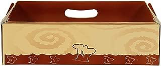 Caja de cartón automontable para Brazo con asa - 100 Unidades (39 x 13 x 10 cm.)