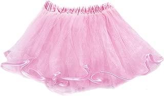 Hauntlook Light Pink Costume Tutu for Toddlers - Kids & Babies Ballerina Dancer Dress Up