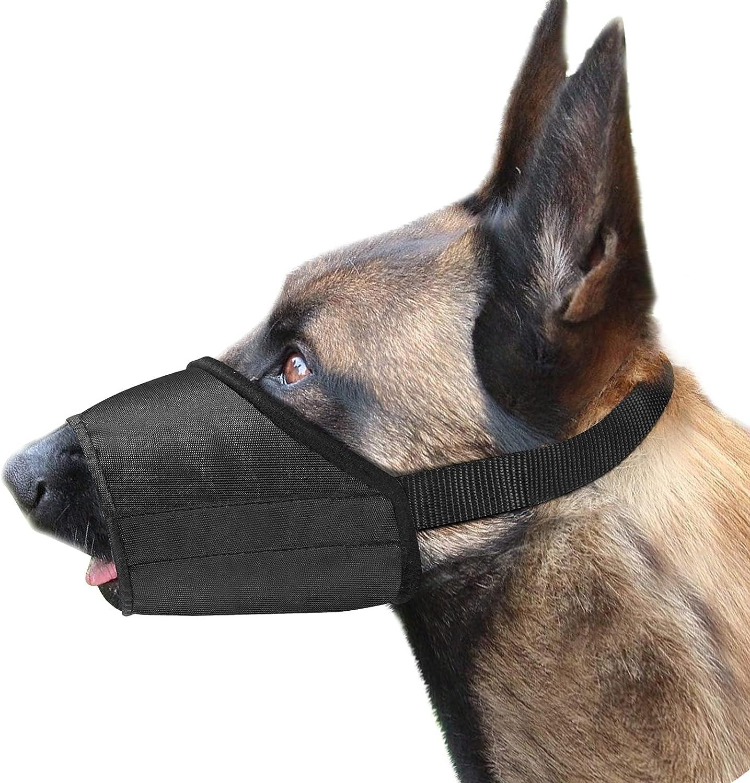 FLOWRALiKI Dog Muzzle for Small Large B Medium Anti-Biting Dogs NEW Popular standard before selling