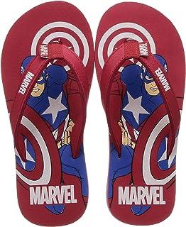Avengers by toothless Boy's Kids Flip-Flops Slipper