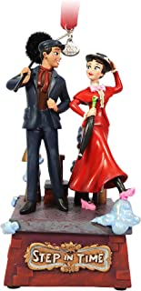 Disney Mary Poppins and Bert Singing Living Magic Sketchbook Ornament