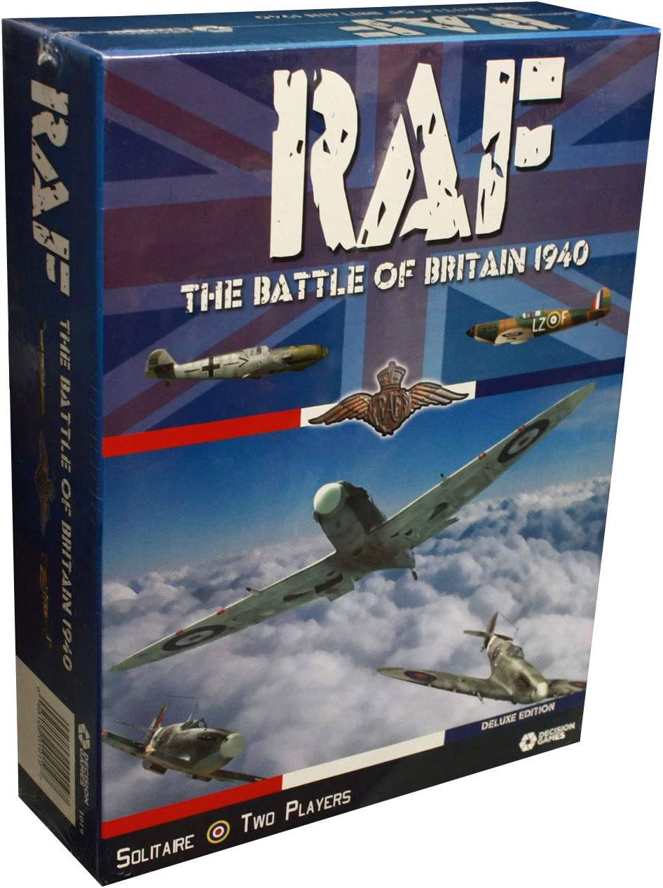 Max 63% OFF Decision Games RAF: The Battle Baltimore Mall of Britain - Deluxe 1940 Edition
